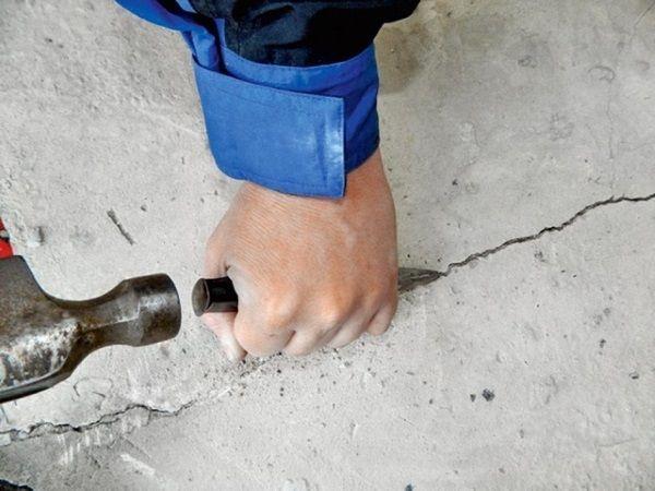 Виды ремонта бетонных полов